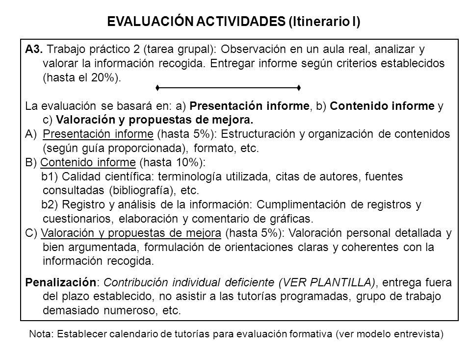 A4.Realizar y entregar las actividades propuestas en los temas (tarea grupal) (hasta el 20% (1) ).