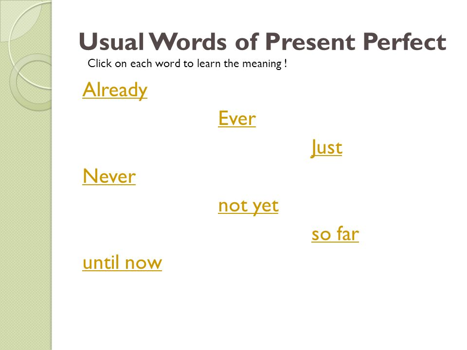 For Practicing a little more An exercise http://www.englishexercises.org/makeagame /viewgame.asp?id=3365#a Learning …
