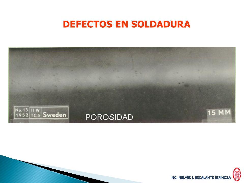 DEFECTOS EN SOLDADURA
