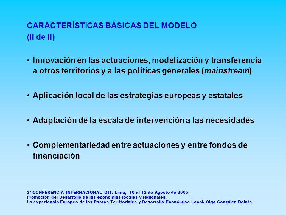 DIFICULTADES Y FÓRMULAS EXITOSAS DE SUPERARLAS (I de III) Inercia de protagonismos institucionales y personales Cultura de generosidad estratégica y de generación de confianza en un proyecto común.