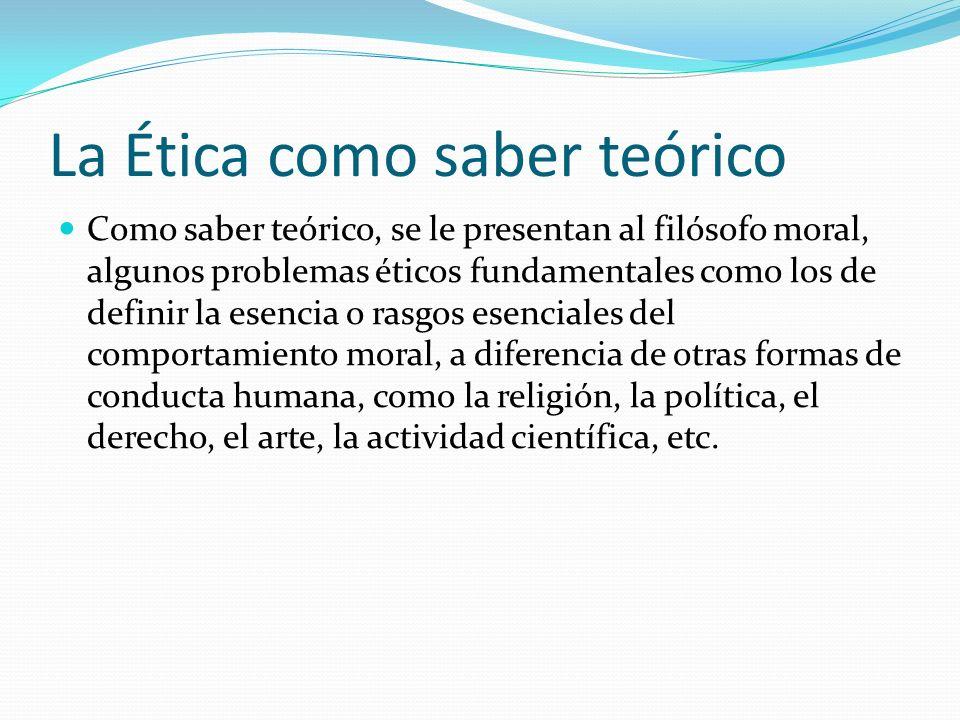 Temas éticos Otros problemas éticos son: a.