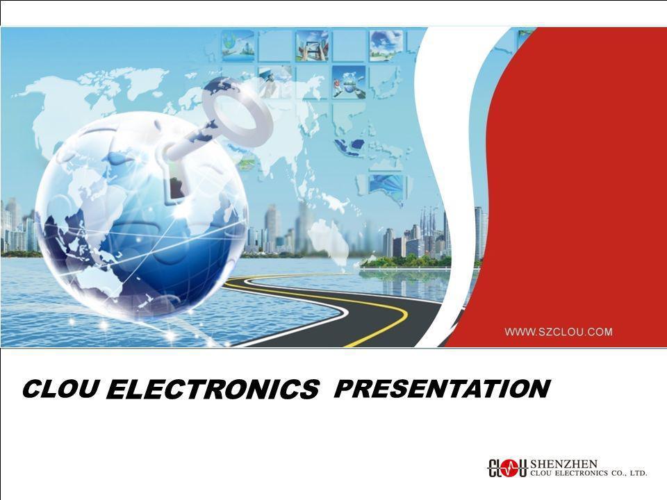 CLOU ELECTRONICS PRESENTATION