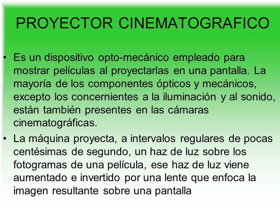 USOS Desde el nacimiento del cine sonoro, casi todos los proyectores de cine comerciales proyectan a una frecuencia de 24 imágenes por segundo.