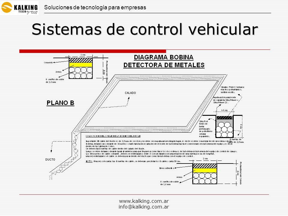 www.kalking.com.ar info@kalking.com.ar Soluciones de tecnología para empresas Sistemas de control vehicular BARRERA CON CÁMARA BARRERAS ALINEADAS CAMARA PARA FILMAR INGRESOS DENTRO DEL COUNTRY