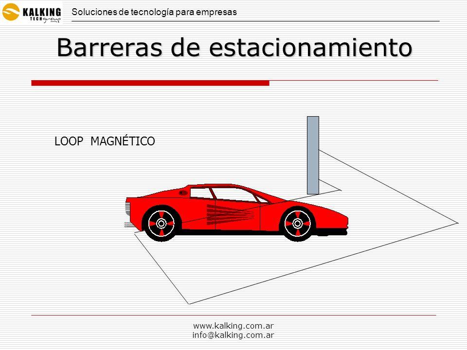 www.kalking.com.ar info@kalking.com.ar Sistemas de control vehicular Soluciones de tecnología para empresas En clubes, countries, barrios privados….