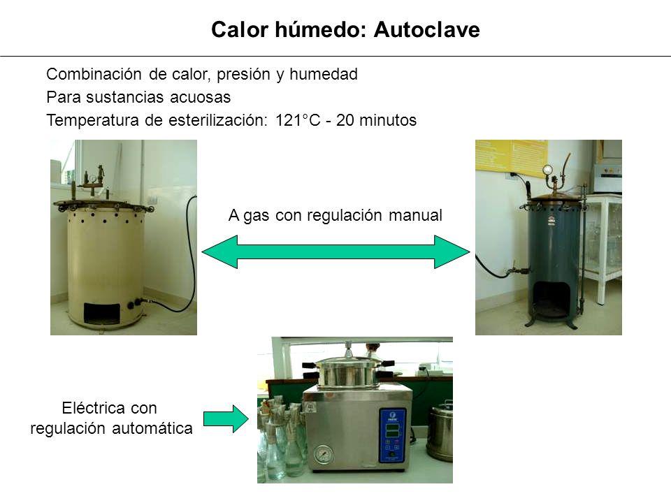 Temperatura de esterilización: 160 °C Tiempo: 2 hs Calor seco: Horno de esterilización Para materiales estables al calor (vidrio, metal, porcelana etc.) Vista exterior Vista interior