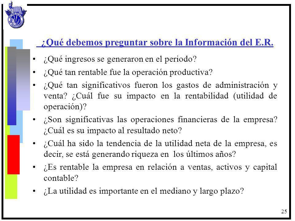 26 Estado de Flujo de Efectivo Para evaluar la operación de un negocio es necesario analizar los aspectos de rentabilidad y la liquidez por lo que debe elaborarse el estado de resultados y el de flujo de efectivo.
