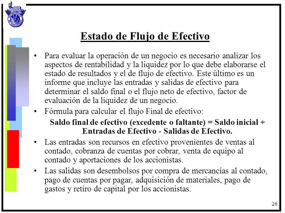 27 Flujos de Efectivo Empresa - Mercados Financieros.