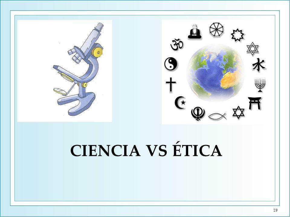 Ciencia vs Ética (I) Gattaca es un mundo en el que el ritmo de los descubrimientos científicos no se controla por el debate moralista y ético.