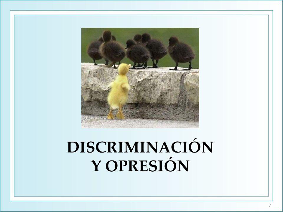 Discriminación y Opresión (I) Gattaca está situada en un futuro donde la ciencia, y no la religión, se ha hecho cargo de la sociedad.