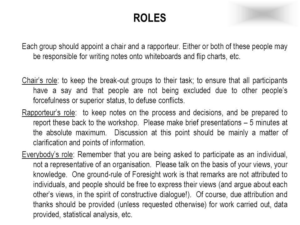 Instrucciones –1.Cada grupo elaborará un escenario de éxito dentro de la situación establecida.