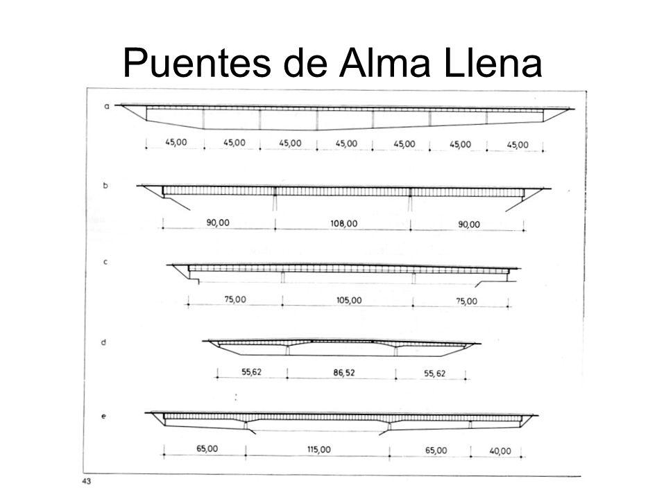 Puentes en Armadura Las armaduras tienen dos ventajas.