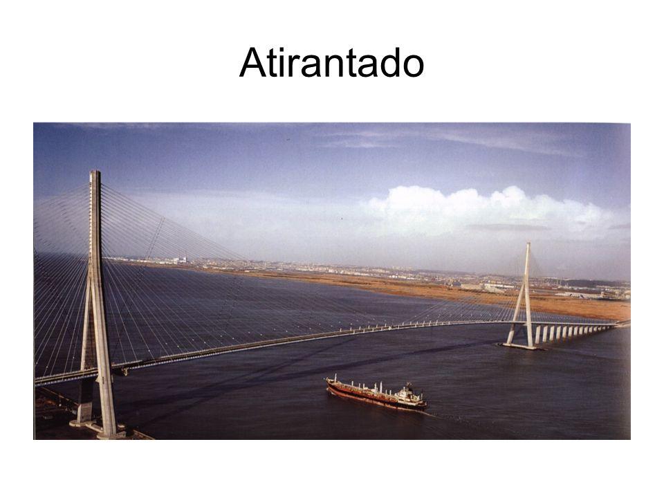 Puentes Colgantes El principal elemento es el cable que trasmite las cargas a las torres y anclajes.