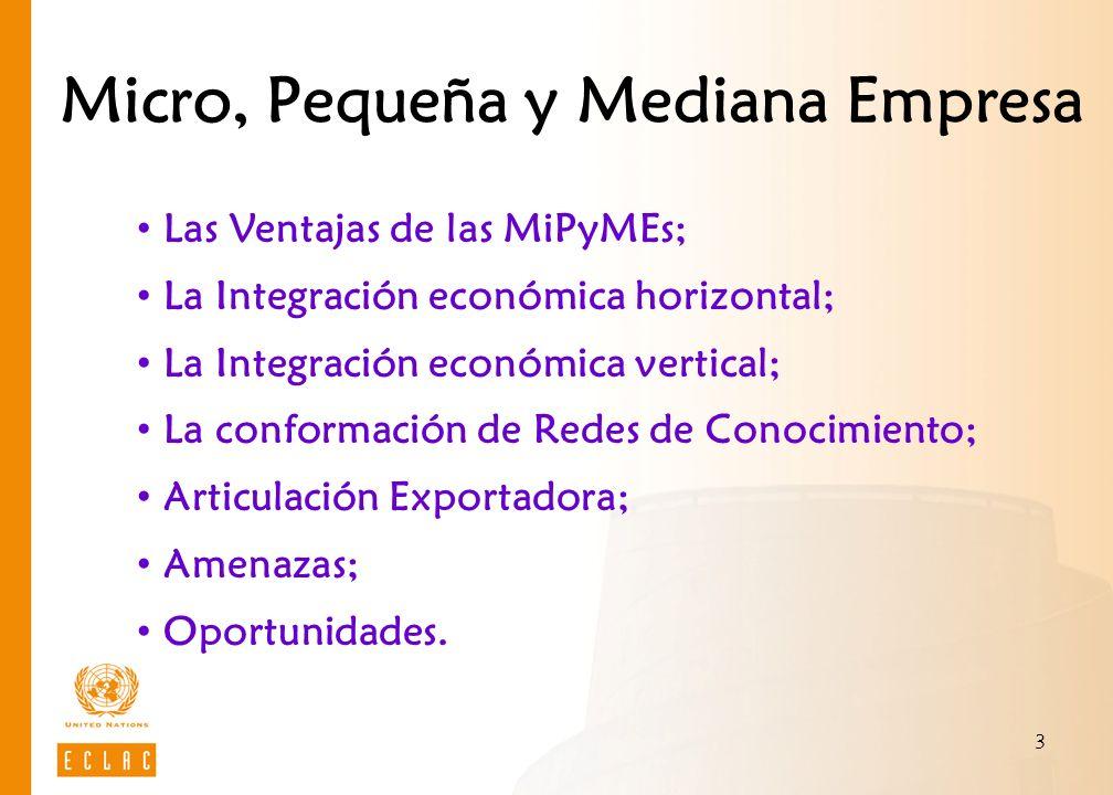 4 Ventajas Competitividad: Interna cambio de paradigma + nueva organización + conocimiento.