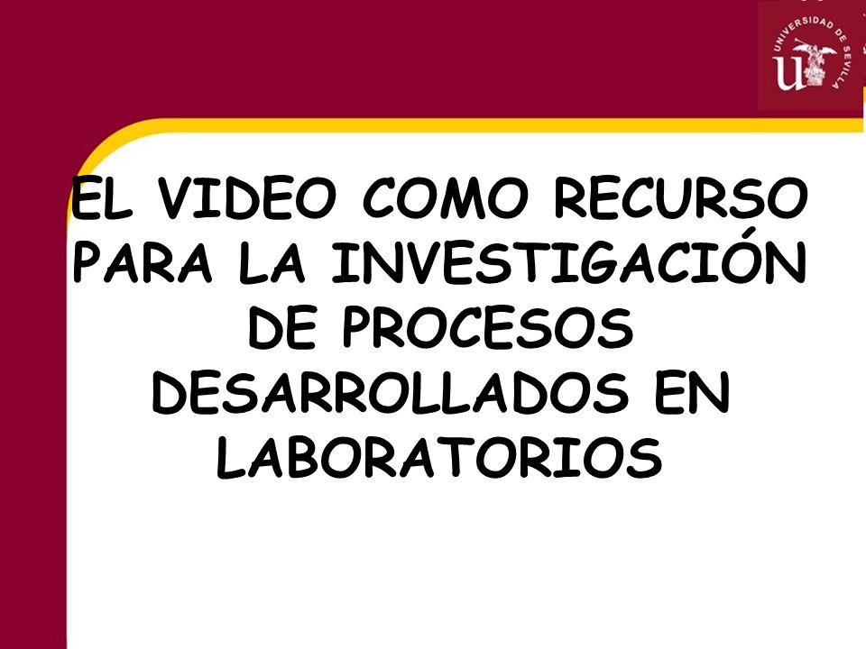 El vídeo puede utilizarse para registrar fenómenos no perceptibles por el ojo humano y facilitar de esta forma su posterior estudio.