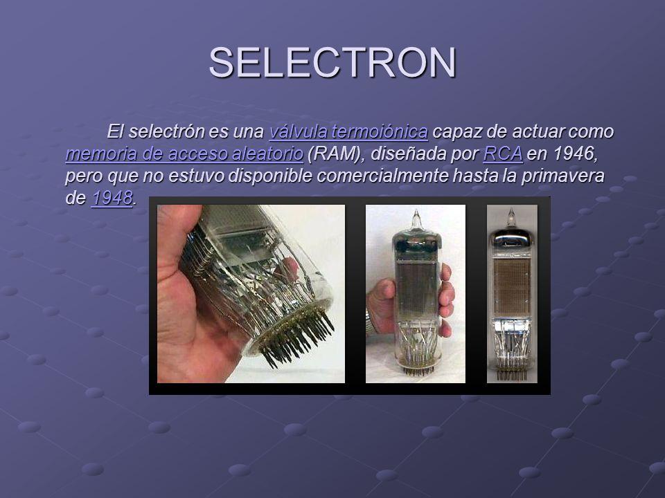 MEMORIA DE TAMBOR Una de las primeras memorias de ordenador.