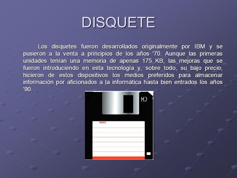 LASERDISC La tecnología Laserdisc fue inventada por David Paul Gregg en 1958, pero el primer disco de vídeo que hacía uso de la misma no fue mostrado en público hasta 1972.