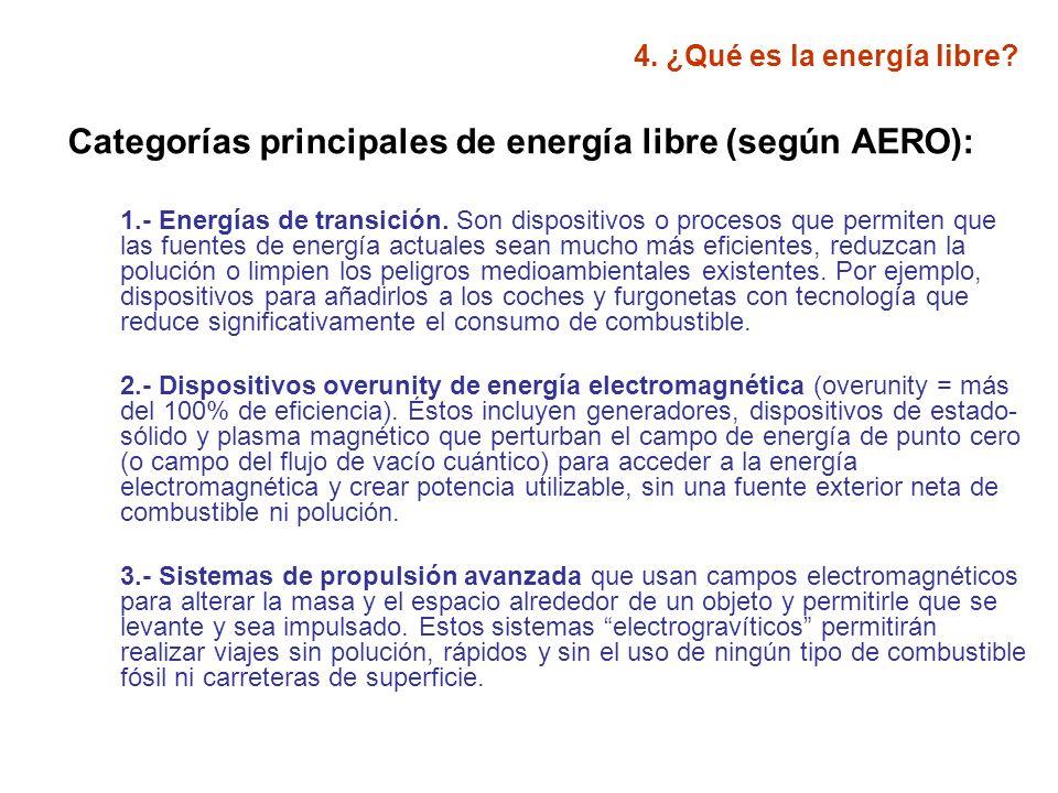 4.¿Qué es la energía libre.
