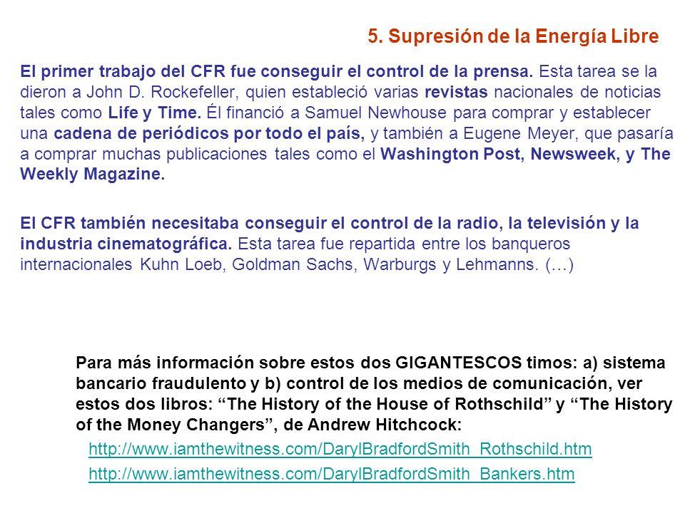 5.Supresión de la Energía Libre ¿Creéis que estáis bien informados.