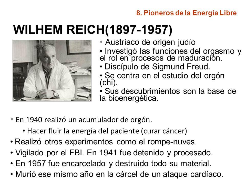 JOHN HUTCHINSON Nacido en Canadá (1945) Seguidor de Nikola Tesla.