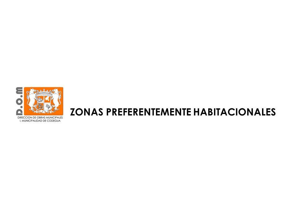 Calle O`Higgins en torno al canal Lucano, Patricio Gallegos y Calles Proyectadas ZONA HABITACIONAL DENSIDAD ALTA (ZH1)