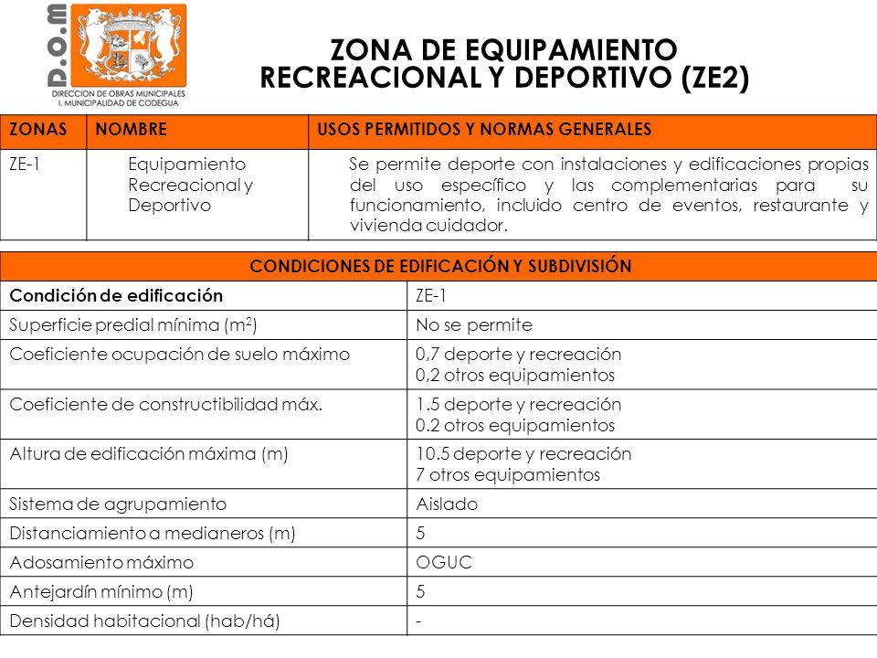 AREAS DE RIESGO, RESTRICCION Y PROTECCION DE LAS LOCALIDADES DE CODEGUA Y LA COMPAÑIA