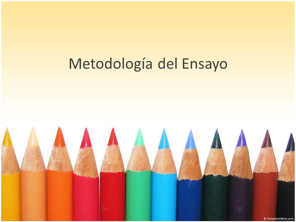 El Ensayo: El ensayo existe como contribución de Michel de Mantaigne, S.