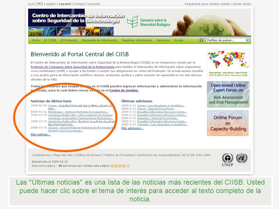 También puede hacer clic aquí para acceder a todas las noticias que han sido publicados en el CIISB.