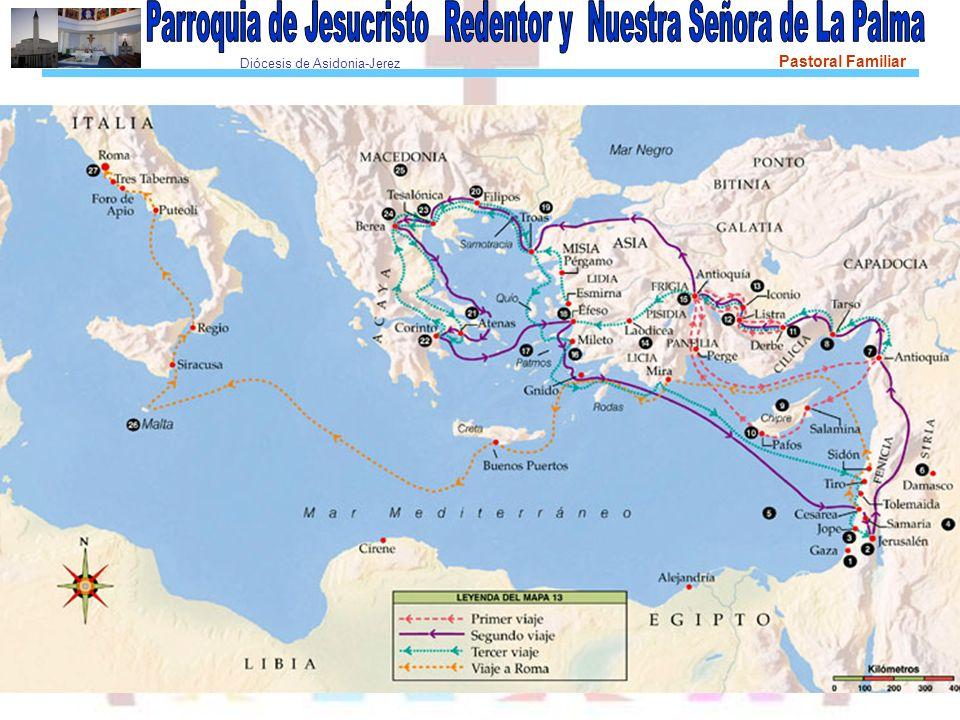 Diócesis de Asidonia-Jerez Pastoral Familiar Colosas es una pequeña ciudad de Frigia, evangelizada por Epafras, un discípulo de Pablo.