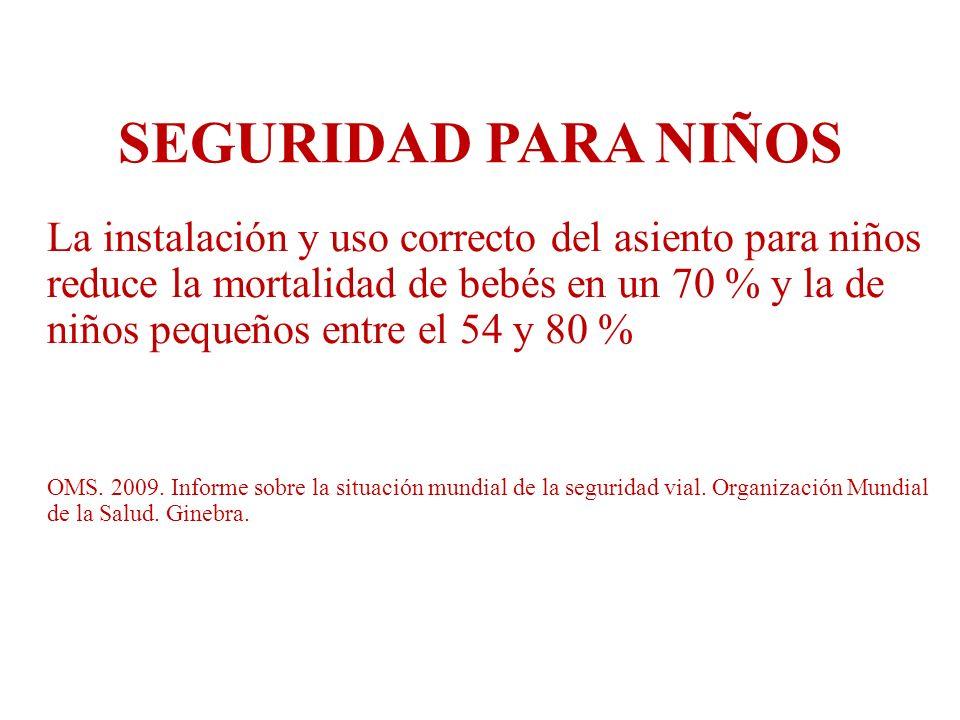 OBJETIVO Analizar información cuantitativa sobre los accidentes de tránsito en San Martín de los Andes entre 2009 y 2011, para contribuir a la implementación de políticas de tránsito seguro