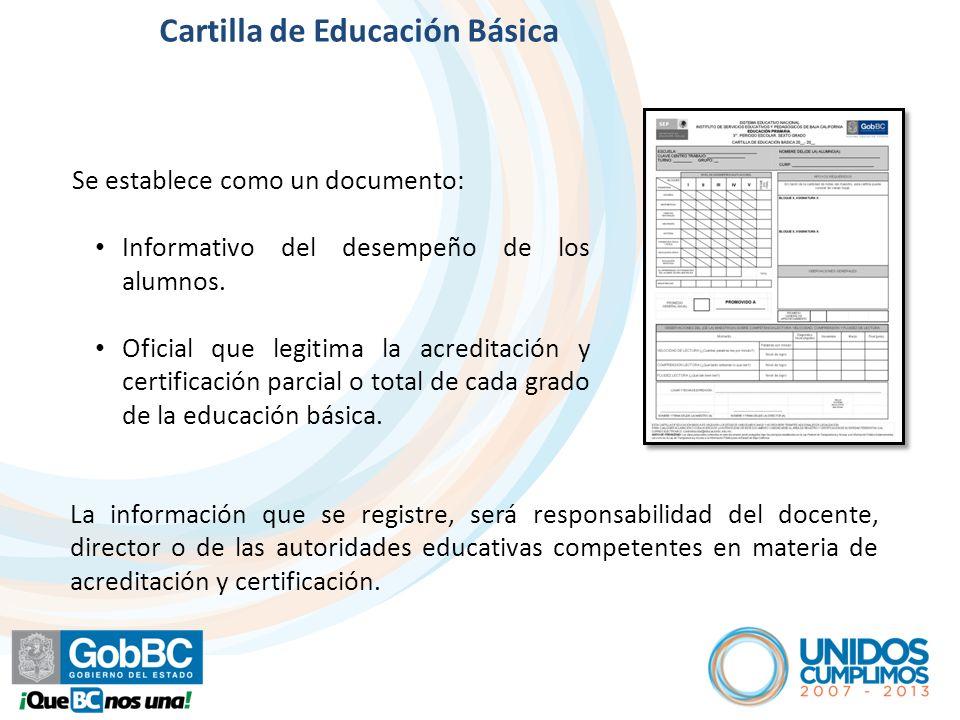 Artículo 6º Contenido de la Cartilla de Educación Básica SISTEMA EDUCATIVO NACIONAL INSTITUTO DE SERVICIOS EDUCATIVOS Y PEDAGÓGICOS DE BAJA CALIFORNIA EDUCACIÓN PRIMARIA.