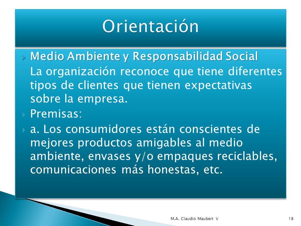 Competencia Competencia Orientación administrativa desarrollada en los últimos años para hacer frente a las expectativas de la competencia.