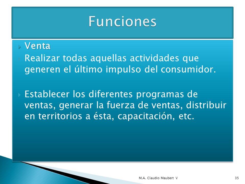 Distribución Distribución Establecer el canal de distribución por medio del cual se harán llegar los productos al consumidor.