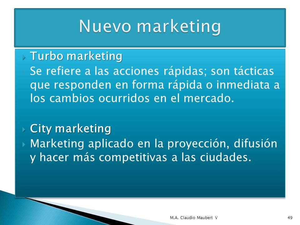 Marketing relacional (CRM) Marketing relacional (CRM) Se busca crear, fortalecer y mantener el contacto constante con los clientes de manera individual, para medir la satisfacción en el uso del producto; se puede medir también la lealtad hacia la marca.