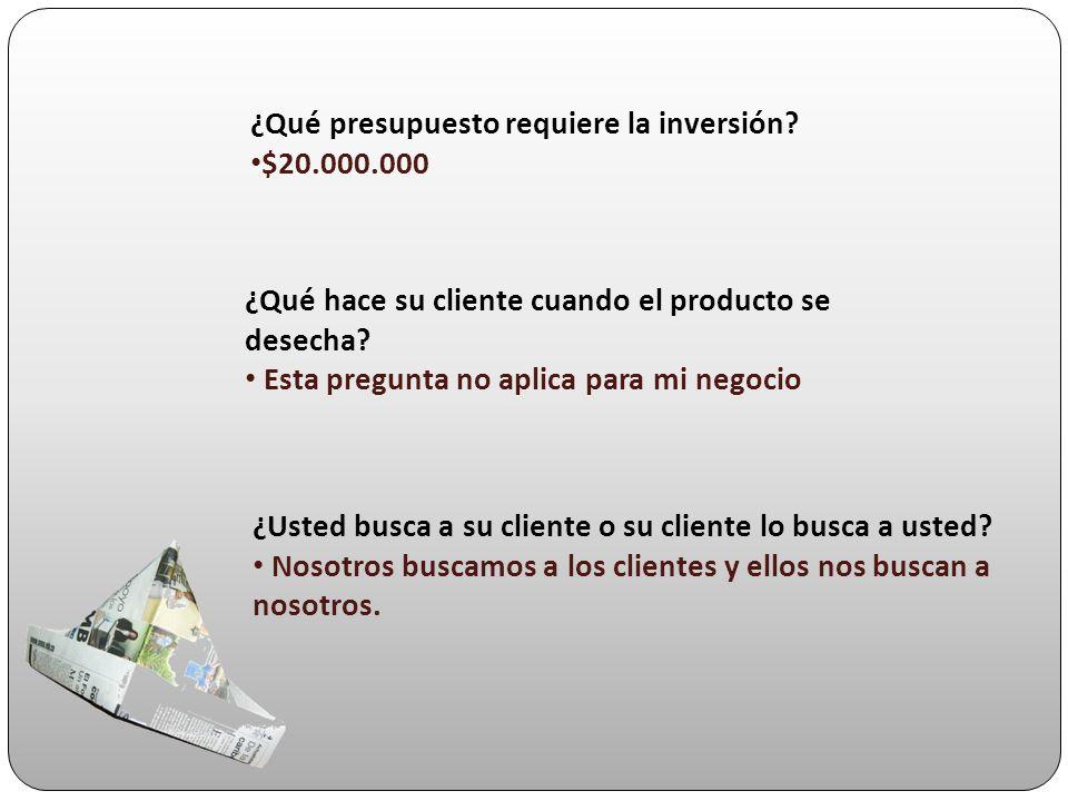 ¿Tiene el producto y/o servicios usos directos, alternos y complementarios.