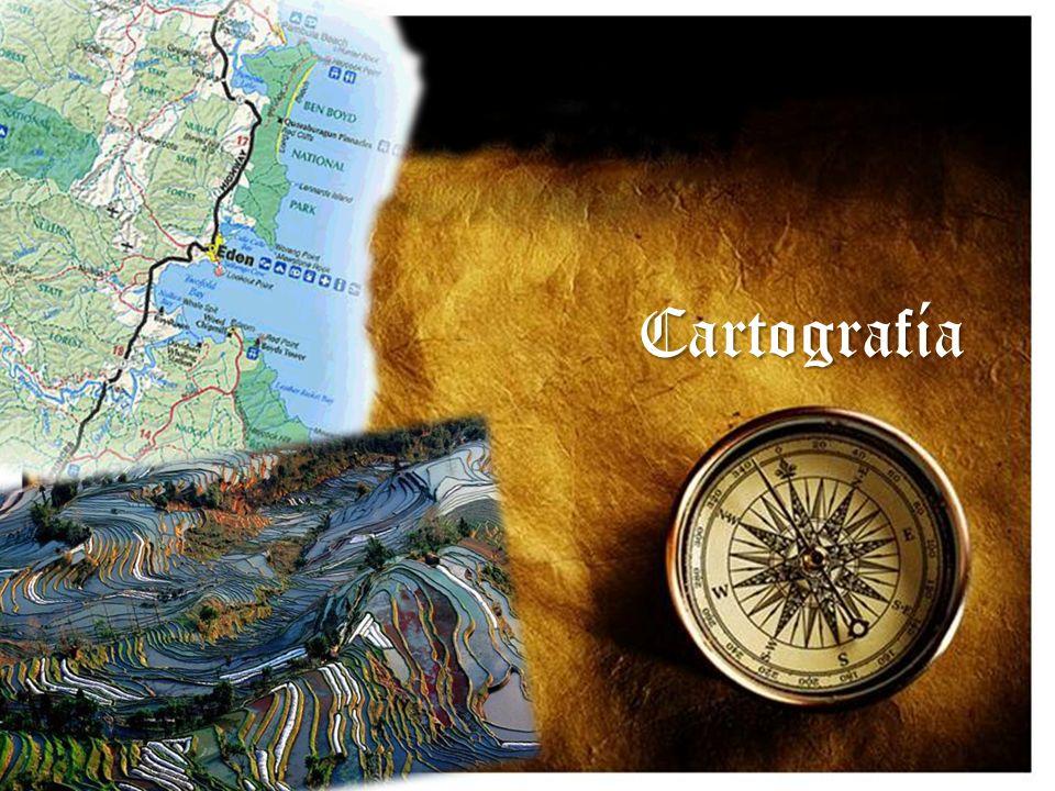 Cartografía La cartografía (del griego chartis = mapa y graphein = escrito) es la ciencia que estudia y elabora mapas geográficos, territoriales y de diferentes dimensiones.