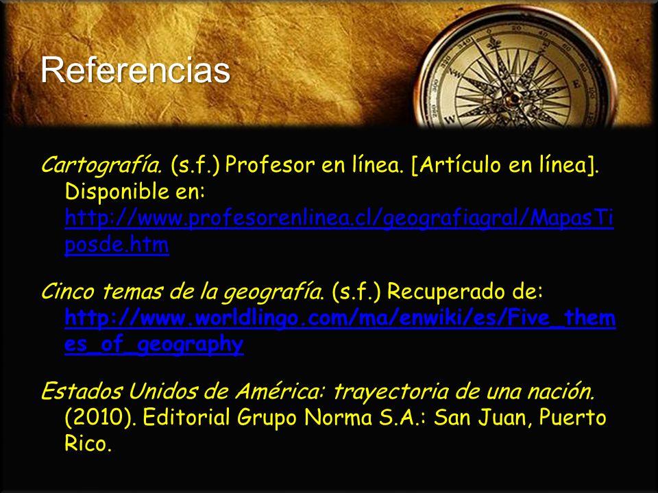 Importancia de la geografía.(2008). Educando: El portal de la educación dominicana.