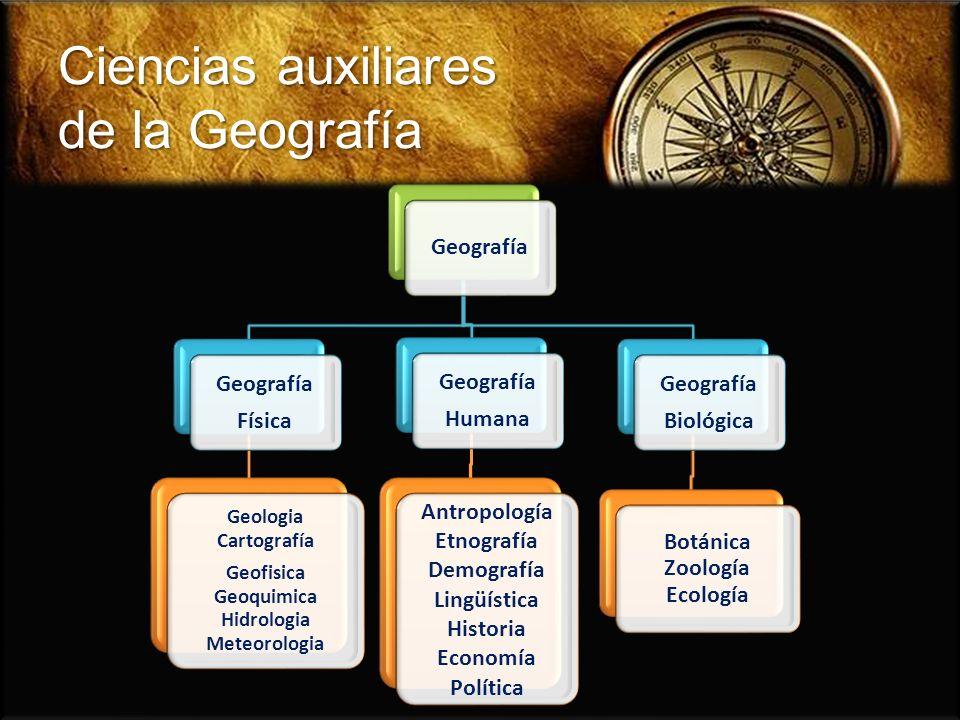 Temas fundamentales de la Geografía La Geografía se estudia en la escuela gracias a la creación de un marco educativo establecido en 1984 por el Consejo Nacional para la Educación Geográfica (NCGE) y la Asociación Americana de Geógrafos (GAA).