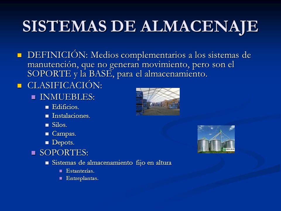 ALTERNATIVAS DE ALMACENAMIENTO ALMACENAJE EN BLOQUE.