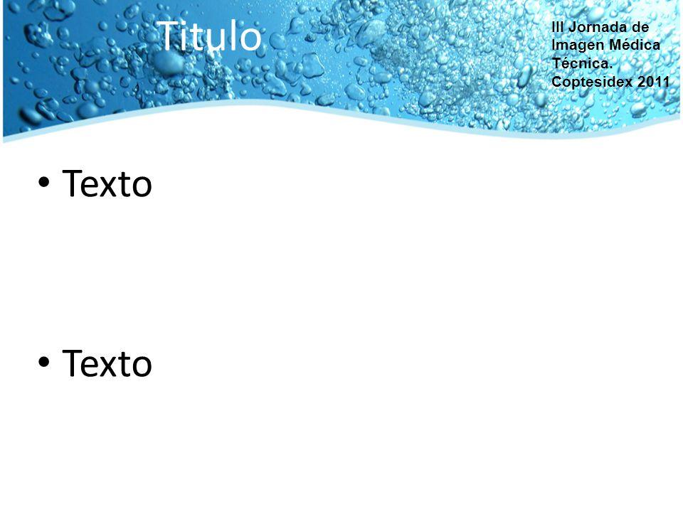 COPTESIDEX COLEGIO PROFESIONAL DE TTSSID –TÉCNICOS RADIÓLOGOS DE EXTREMADURA Esta obra está visada por la Secretaría Técnica de la Comisión de Formación y Pedagogía con el nº20110004.