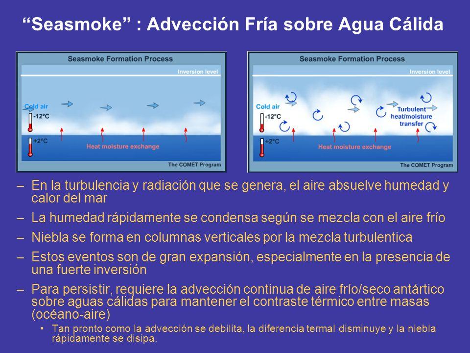Condiciones Generales para Pronósticos de Niebla Marina