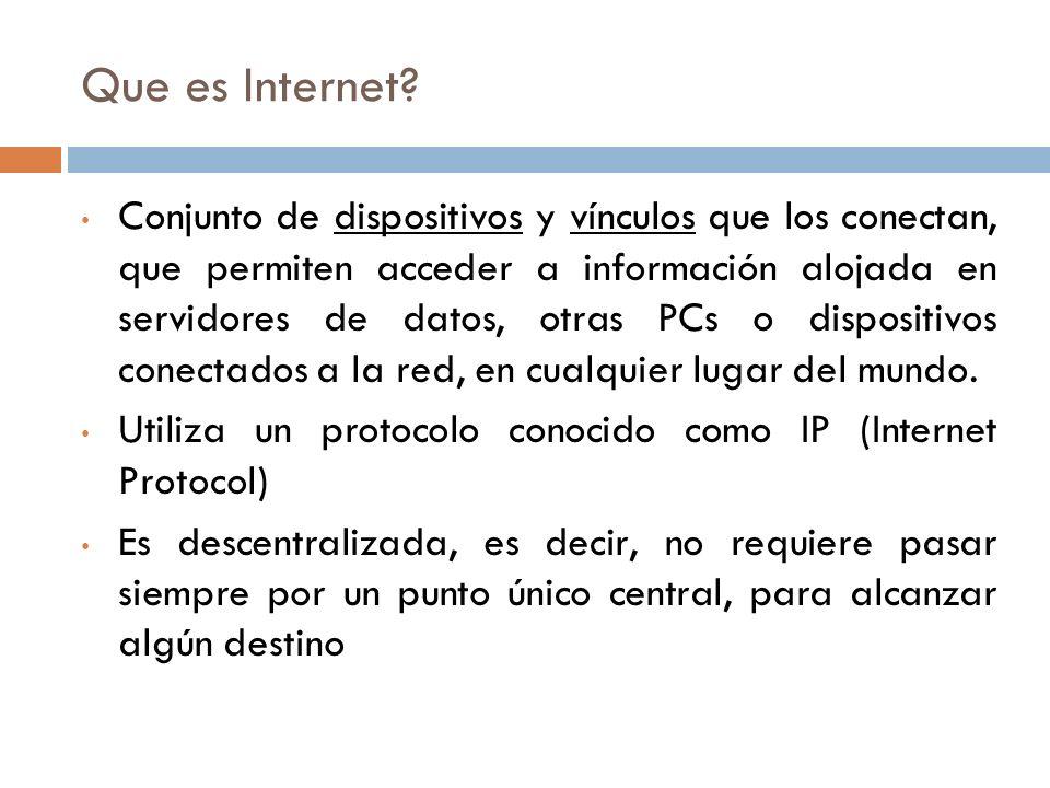 Que es un acceso a internet.