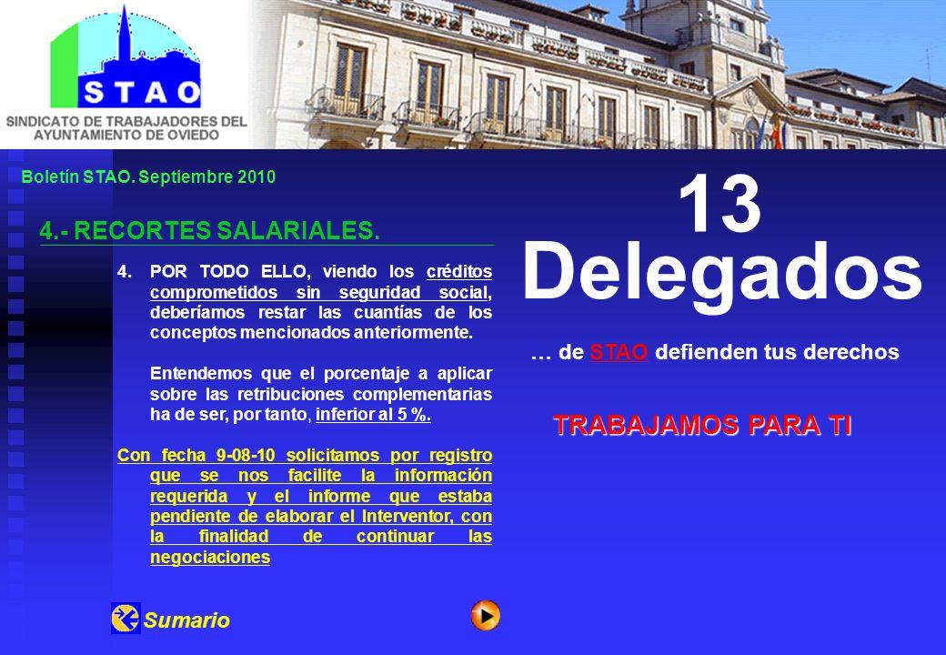 Boletín STAO.Septiembre 2010 5.- VESTUARIO 2009 / 2010.