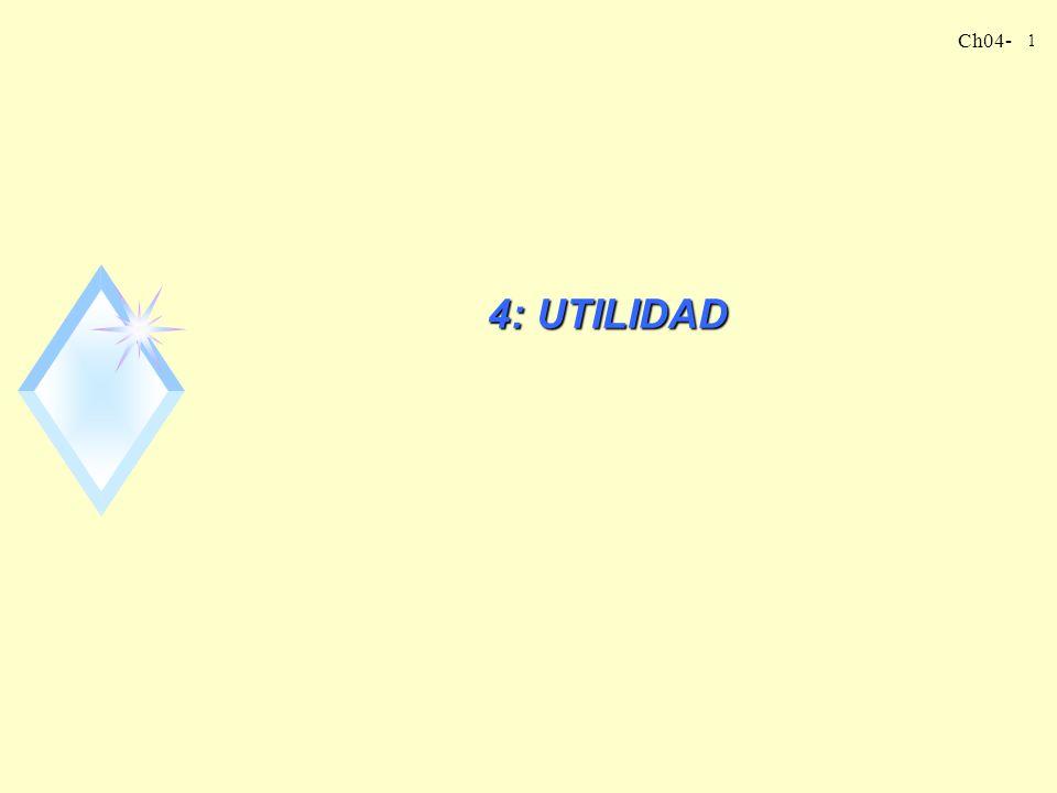 Ch04- 1 4: UTILIDAD