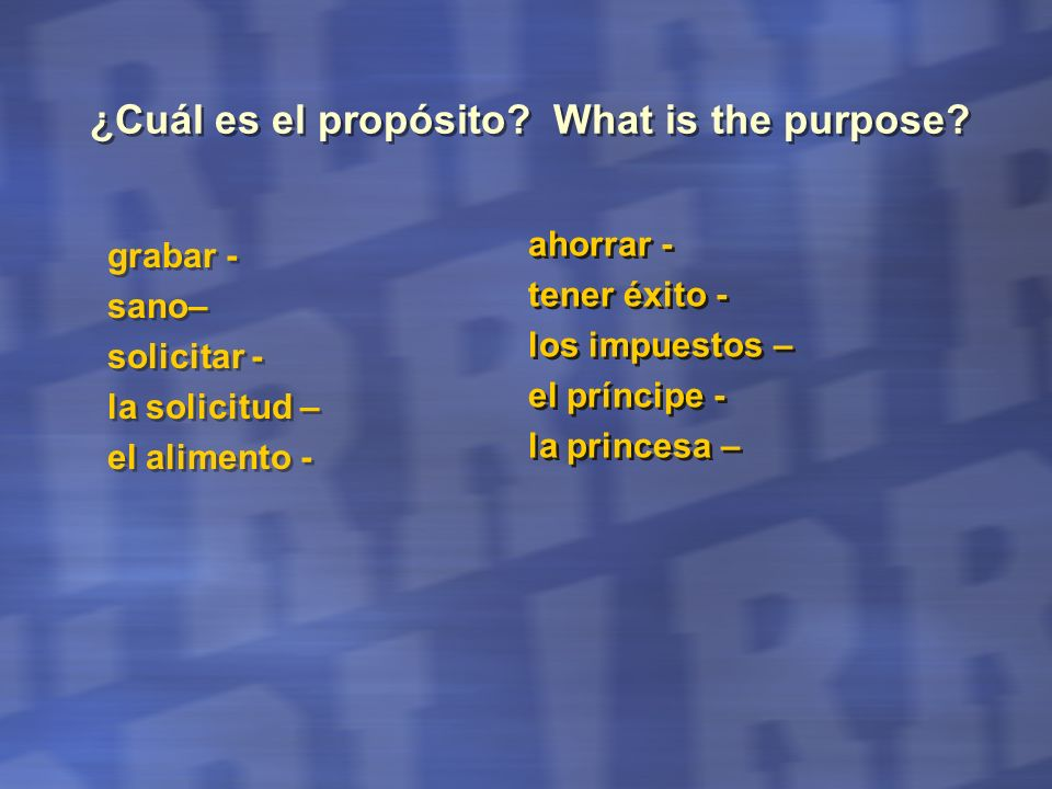 Part III Reading Comprehension Part A - Long Paragraph - 5 multiple choice questions in Spanish- Literal questions.