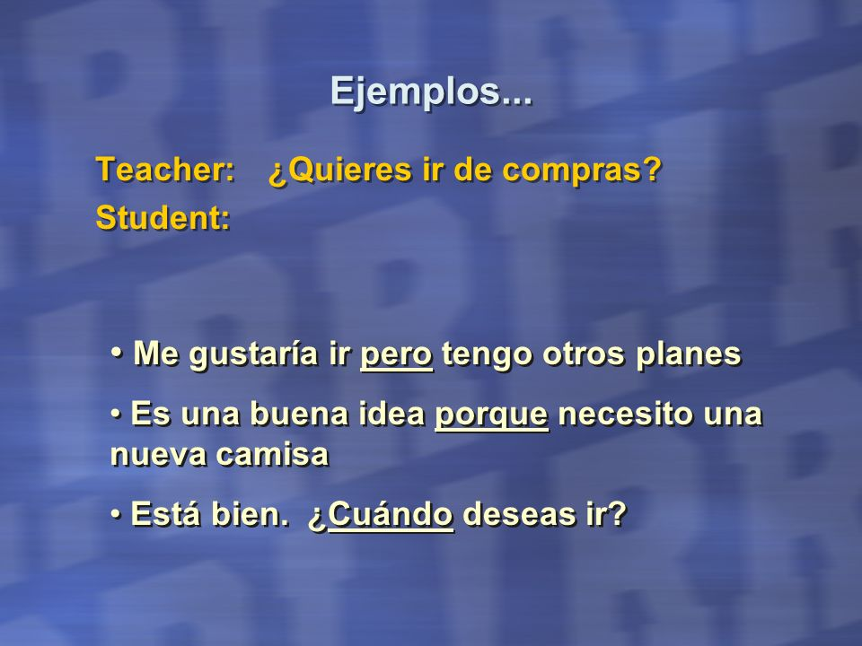 Student Dialogue Sample (Student Initiates) I am a security guard at a major tourist attraction in Argentina.