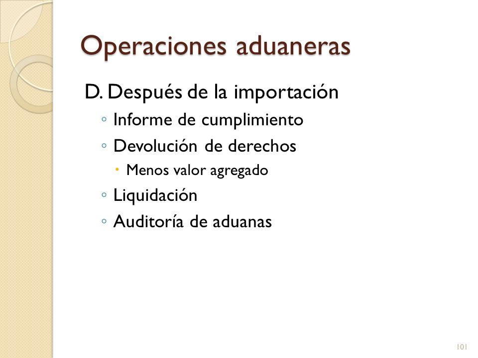 Operaciones aduaneras En la mayoría de casos solo se requiere llenar papeles y pagar derechos En EUA el libro se denomina HTS, se cobra de acuerdo a la clasificación de la carga, el valor y el país de origen 102 http://mx.wrs.yahoo.com/_ylt=A0S0zvk56t1KZ28AptPO8Qt./SIG=1242qfvl3/ EXP=1256143801/**http%3A//www.library.kr.ua/novini/n_booksqbpl.html