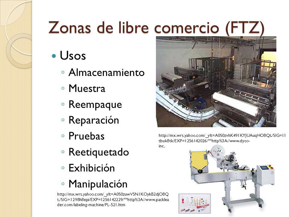 Zonas de libre comercio (FTZ) Usos Mezclas Ensamble Rescate Procesamiento Limpieza Manufactura Destrucción 86 http://mx.wrs.yahoo.com/_ylt=A0S0zu0Q5d1Kj44AavvO8Qt./SIG=12dgk2vrf /EXP=1256142480/**http%3A//www.skyscrapercity.com/showthread.php%3F p=12723526