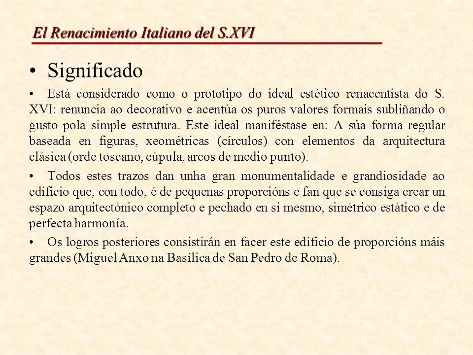 El Renacimiento Italiano del S.XVI PINTURA