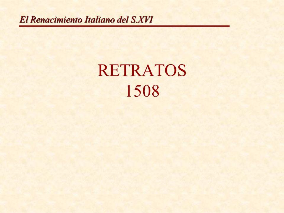 El Renacimiento Italiano del S.XVI León X y sus sobrinosJulio II El cardenal Rafael Sanzio.